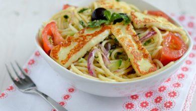 Photo de Spaghettis aux courgettes rapées & Grillis poêlé