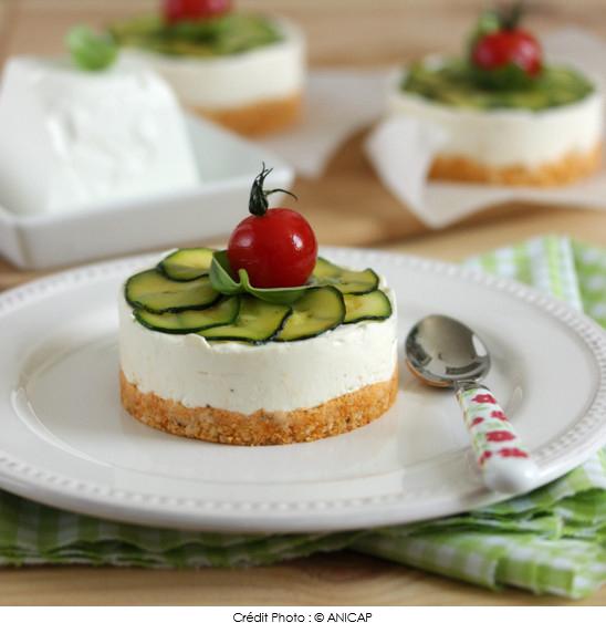 cheesecake_au_chèvre_frais_pesto_rosso