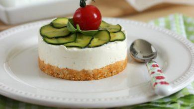 Photo de Cheesecake au chèvre frais, pesto rosso