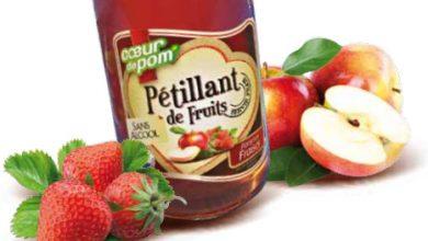 Photo de Cœur de Pom' : Pétillant 100% Pomme-Fraise, la Festive de saison qui fait pétiller l'été !