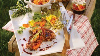 Photo de Côtelettes au poivre Teriyaki et beurre de piment