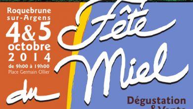Photo de Samedi 4 et dimanche 5 octobre 2014, Fête du Miel de Roquebrune-sur-Argens : 21ème édition !