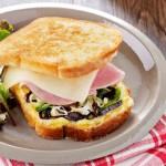 Croque Basque au Pur Brebis Pyrénées et jambon blanc