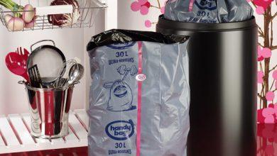 Photo de Découvrez Handy Bag Lien pratique®, le premier sac poubelle qui ne perd pas le fil !
