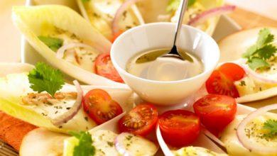 Photo de Salade d'endives blanches, poires et Époisses Berthaut
