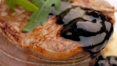 Photo de Tournedos sauce nougat et crème de balsamique