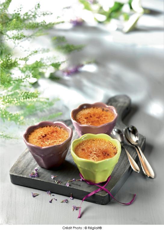Cr me br l e caramel au beurre sal r gilait a vos for Regilait cuisine