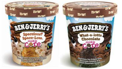 Photo de Ben & Jerry's® Cookie Core, un cœur de biscuit pour être sûr de fondre de plaisir !