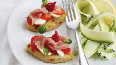 Photo de Croque-Rösti de pommes de terre aux légumes McCain à l'italienne