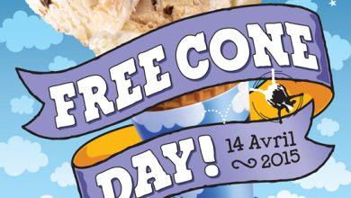 Photo de Ben & Jerry's Le Free Cone Day, la journée de la glace gratuite revient le 14 avril 2015 !