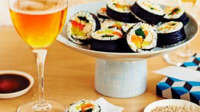 Photo de Bouchées kimbap de volaille au cidre