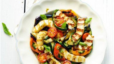 Photo de Grillis et Légumes grillés au pesto