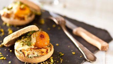 Photo de Croque&Burger, poulet et abricots