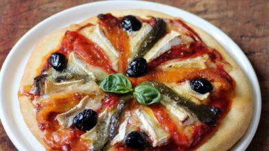 Photo de Pizza aux poivrons et au Camembert de Normandie