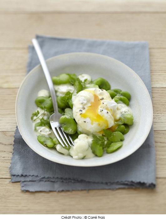 salade_de_feves_et_oeuf_poche_au_carre_frais_olives_touche_de_citron