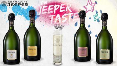 Photo de Les Champagnes JEEPER proposent un verre à leur image, chic et décontracté