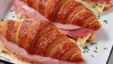 Photo de Croissants au brie et au jambon de Paris
