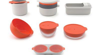 Photo de M-Cuisine™ des ustensiles ingénieux pour cuisiner au four à micro-ondes signés Joseph® Joseph
