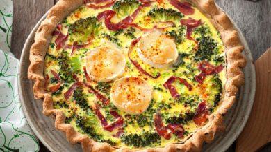 Photo de Tarte fromage frais-brocoli