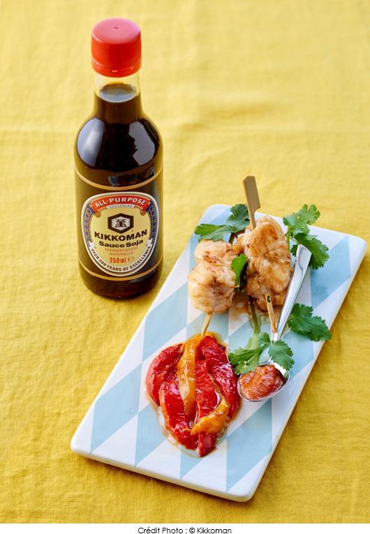 Brochettes de lotte marin es a vos assiettes recettes de cuisine illustr es - Temps de cuisson queue de lotte ...