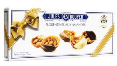 Photo de Les Florentines aux amandes de Jules Destrooper® : des bouchées gourmandes aux 3 chocolats