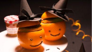 Photo de Oranges garnies à la crème de pain d'épices et à la Marmelade d'Oranges Amères Bonne Maman®