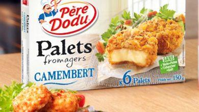 Photo de Découvrez la nouvelle recette Père Dodu® : Les Palets fromagers Camembert