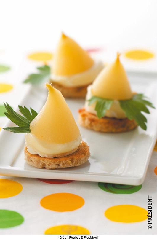 toasts-sucres-sales-de-camembert-president-aux-mini-poires