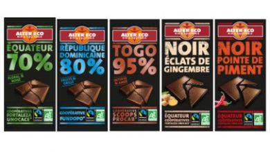 Photo de Alter Eco, leader du chocolat bio etéquitable en France, invite au voyage avec 5 nouveautés chocolat aux origines exotiques
