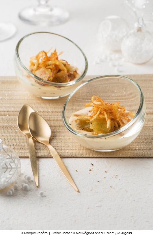 verrine-de-ravioles-grillees-creme-de-foie-gras-et-rape-de-pommes-de-terre