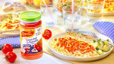 Photo de Douceur de tomate Zapetti au fromage La Vache qui rit® : un concentré de bonne humeur