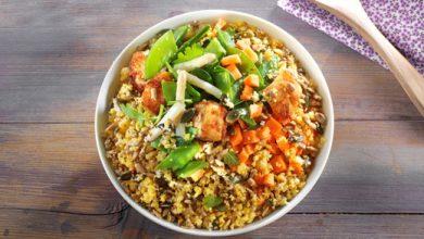 Photo de Bowl Gourmand : volaille et légumes de printemps