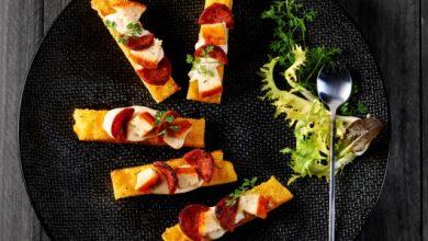 Photo de Boulette d'Avesnes Fauquet® en frites de polenta