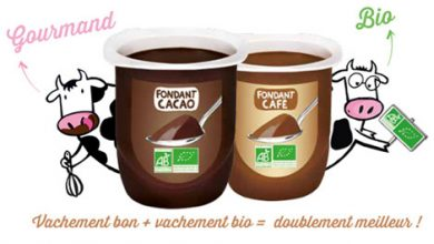Photo de Fondant au Cacao et Fondant au Café Les 2 Vaches : le dessert Doublement Meilleur !