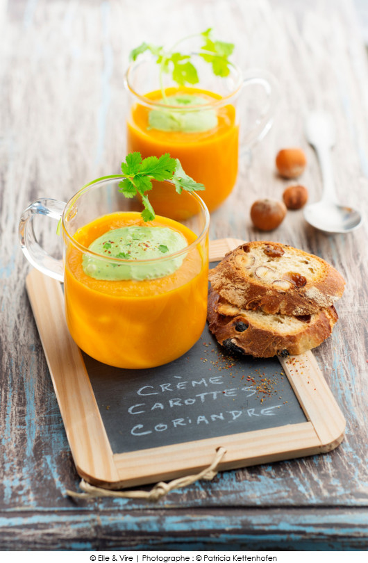 veloute-de-carottes-creme-de-coriandre