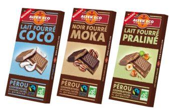 Photo de 3 nouvelles tablettes de chocolat bio et équitables Alter Eco, ultra gourmandes !