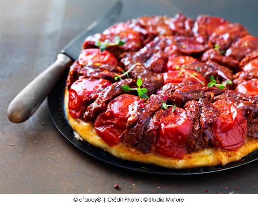 Tatin rouge comme une tomate a vos assiettes recettes de cuisine illustr es - Rouge comme une pivoine ...