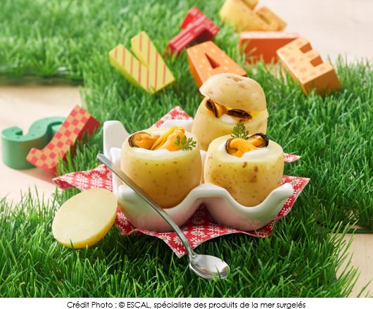 oeuf-de-caille-cocotte-aux-moules-en-habit-de-pomme-de-terre