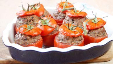 Photo de Tomates farcies bœuf olives