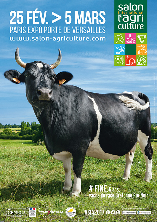 54 me dition du salon international de l 39 agriculture du for Salon porte de versailles calendrier 2017