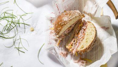 Photo de Sandwiches «New Look» au jambon cuit