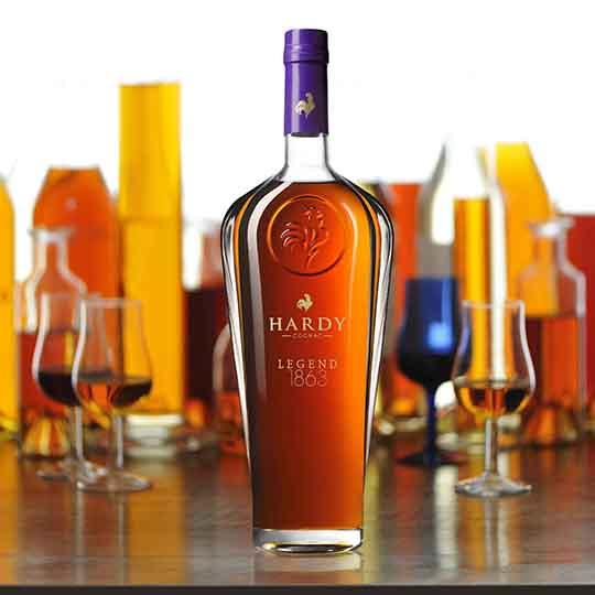 LEGEND 1863 ainsi se perpétue La Légende du Cognac de la Maison Hardy - A  Vos Assiettes, Recettes de cuisine illustrées