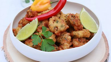 Photo de Accras de crevettes au piment