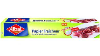 Photo de Albal® innove et lance le Papier Fraîcheur pour prolonger la fraîcheur des aliments