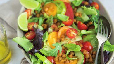 Photo de Salade Mesclun et pois chiches grillés Florette®