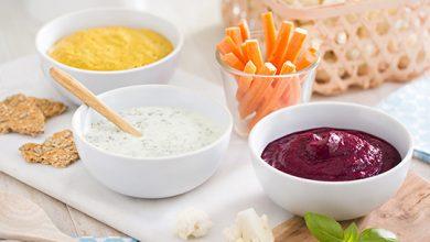 Photo de Sauces estivales au yaourt