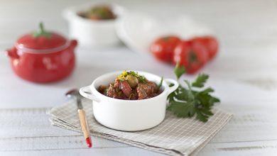 Photo de Mijoté de bœuf à la tomate et aux olives