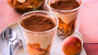 Photo de Tiramisu aux abricots frais
