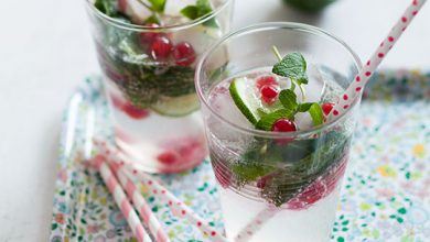 Photo de Virgin mojito aux groseilles