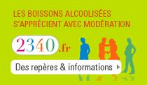 Les boissons alcoolisées s'apprécient avec modération